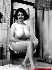 Big breasted vintage girls showing their curves